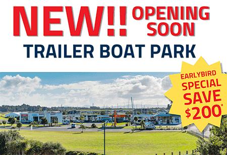 Trailer Boat Park at Marsden Cove Marina